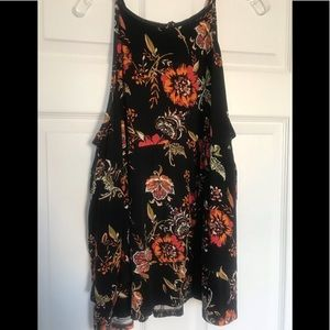 Super Soft Floral Tiered Tank